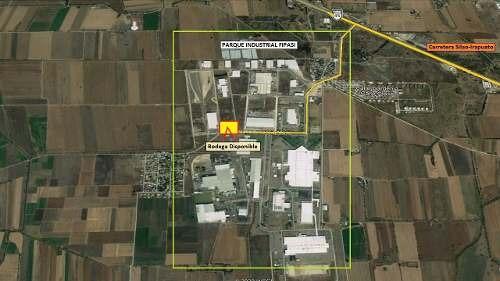 fipasi silao gto. 4,800 m2 manufactura cedi´s almacenaje