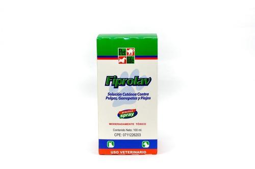 fiprolav spray 100ml garrapaticida higiene perros animales