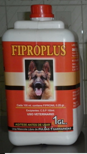 fipronil 1 galón original 0.25% spray antipulgas perros gato