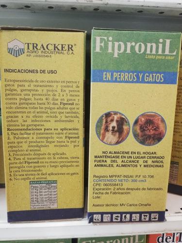 fipronil (frontline) 300 ml incluye spray. ectoparasiticida