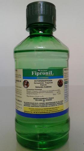 fipronil spray antipulgas y garrapatas 240ml sin rociador