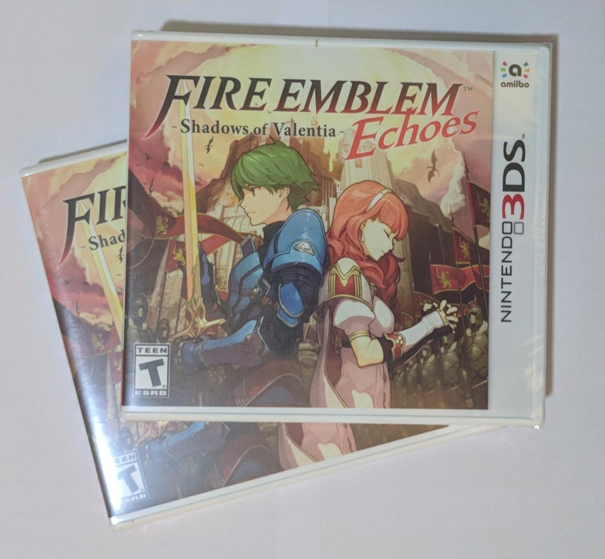 Fire Emblem Echoes Shadows Of Valentia Nintendo 3ds Eua R 139 3dsfire Shadow Caractersticas Saga Ttulo
