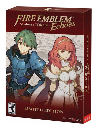 fire emblem echoes shadows of valentia nintendo 3ds limited