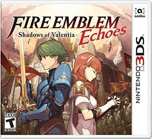fire emblem echoes shadows of valentia nintendo 3ds standard