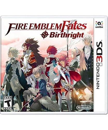 fire emblem fates: birthright - nintendo 3ds birthright e
