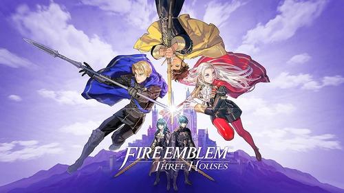 fire emblem switch three houses nintendo *codigo digital*