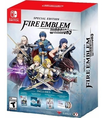 fire emblem warriors - edicion especial - nintendo switch