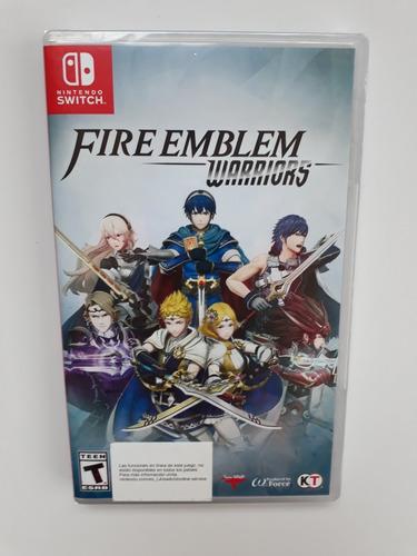 fire emblem warriors juego nintendo switch nuevo y sellado