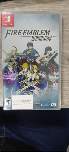fire emblem warriors nintendo switch sellado
