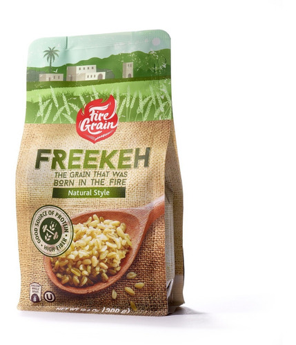 fire grain freekeh, supergrano ancestral, natural, 6 pack