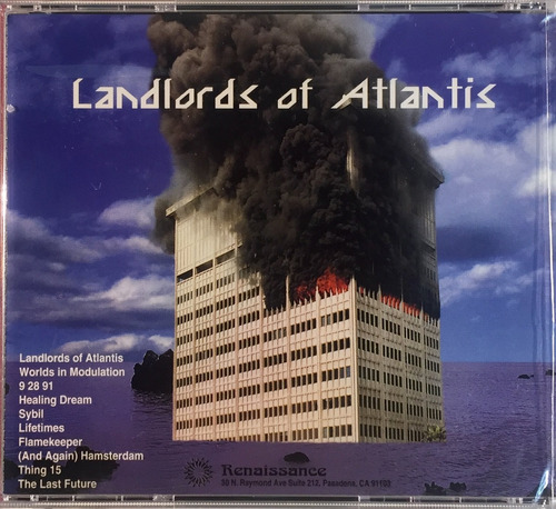 fire merchants - landlords of atlantis - cd importado novo