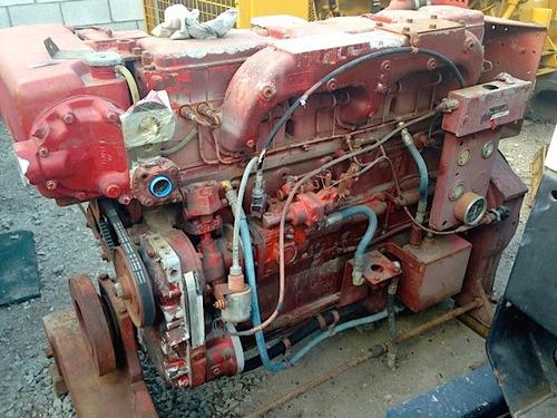 fire pump engine (bomba contra incendio)