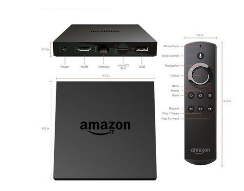 fire tv  amazon convertidor tv  4k ultra hd con voz alexa