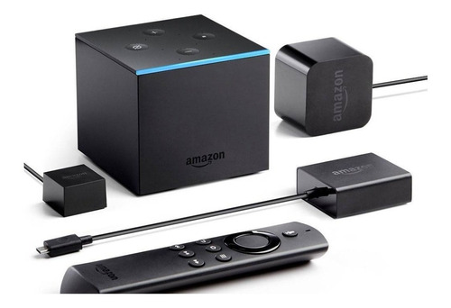 fire tv cube amazon. 4k alexa echo. como nuevo! 2018