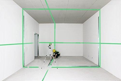 Firecore profesional F93TG 3D verde nivel l/áser con bolsa suave