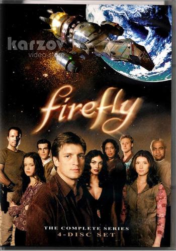firefly la serie completa importada dvd