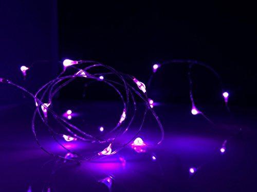 firefly luces de la secuencia 2 pack. extreme púrpura portá