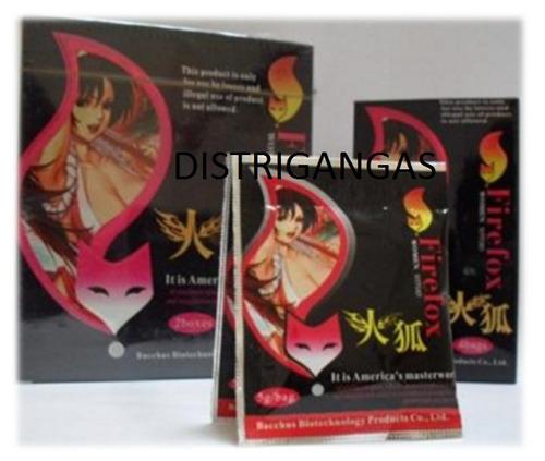 firefox excitante sexual femenino caja original