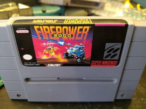 firepower 2000 repro super nintendo snes