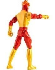 firestorm liga justicia dc comics titan héroe fjk09 mattel