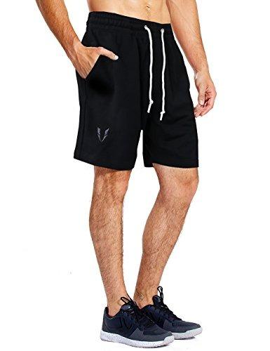 0c7cdc98e Firm Abs Pantalones Cortos Sueltos Para Hombres Pantalones C ...