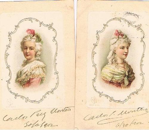 firma carlos pérez montero postales 1902 con sello tengo más