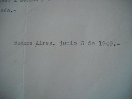 firma de evita eva peron en documento original de fundacion