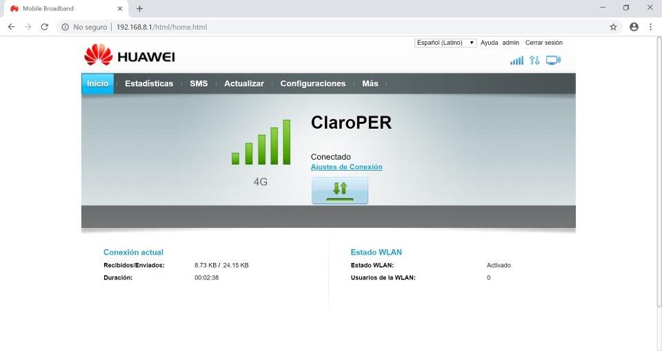 Firmware Unlock Modem Router Huawei B310s-518 4g Lte Entel