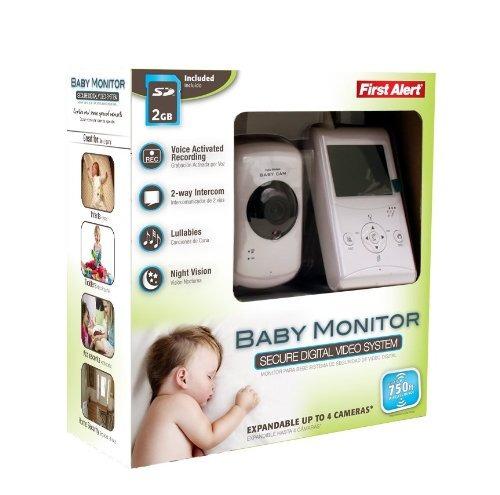 first alert dwb-740 monitor lcd de 2.5 pulgadas para