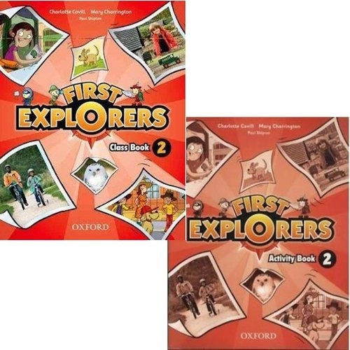 first explorers 2 class book y activity book - oxford