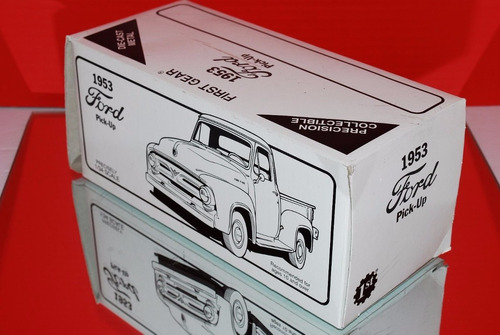 first gear camioneta ford f-100 pickup 1953 northern pacific