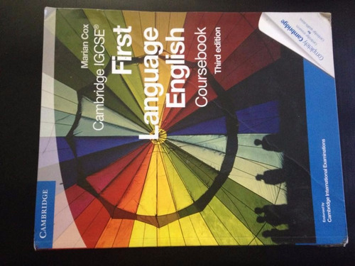 first language english- coursebook. third edition -cambridge