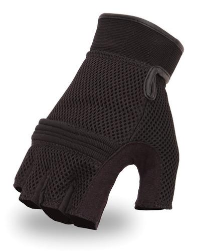 first manufacturing - guantes de moto de dedo, sin dedos, de