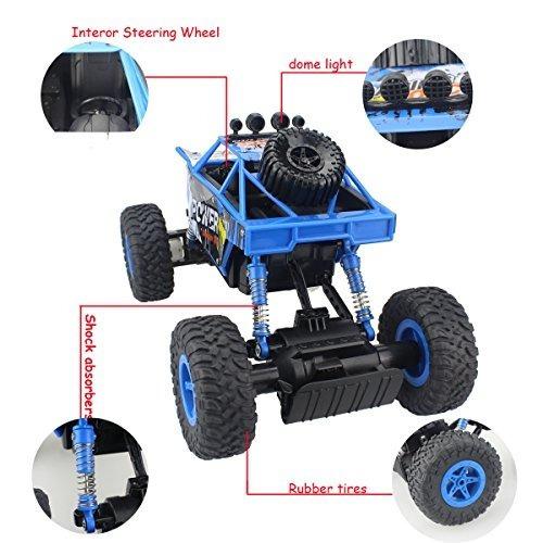 fisca rc control remoto coche rock crawler vehículo todoterr