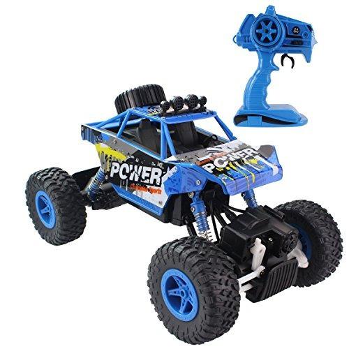 fisca rc control remoto del coche rock crawler vehículo tod