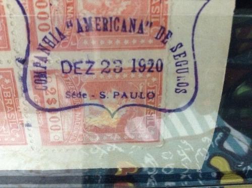 fiscais com selos
