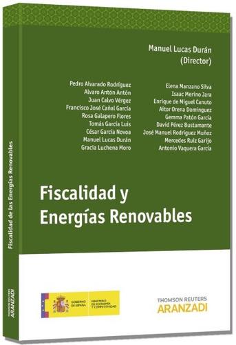 fiscalidad de las energias renovables(libro )