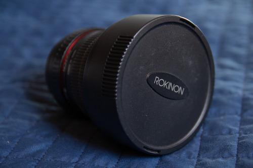 fish eye rokinon 8mm 3.5 canon ef-s  compara sol removivel