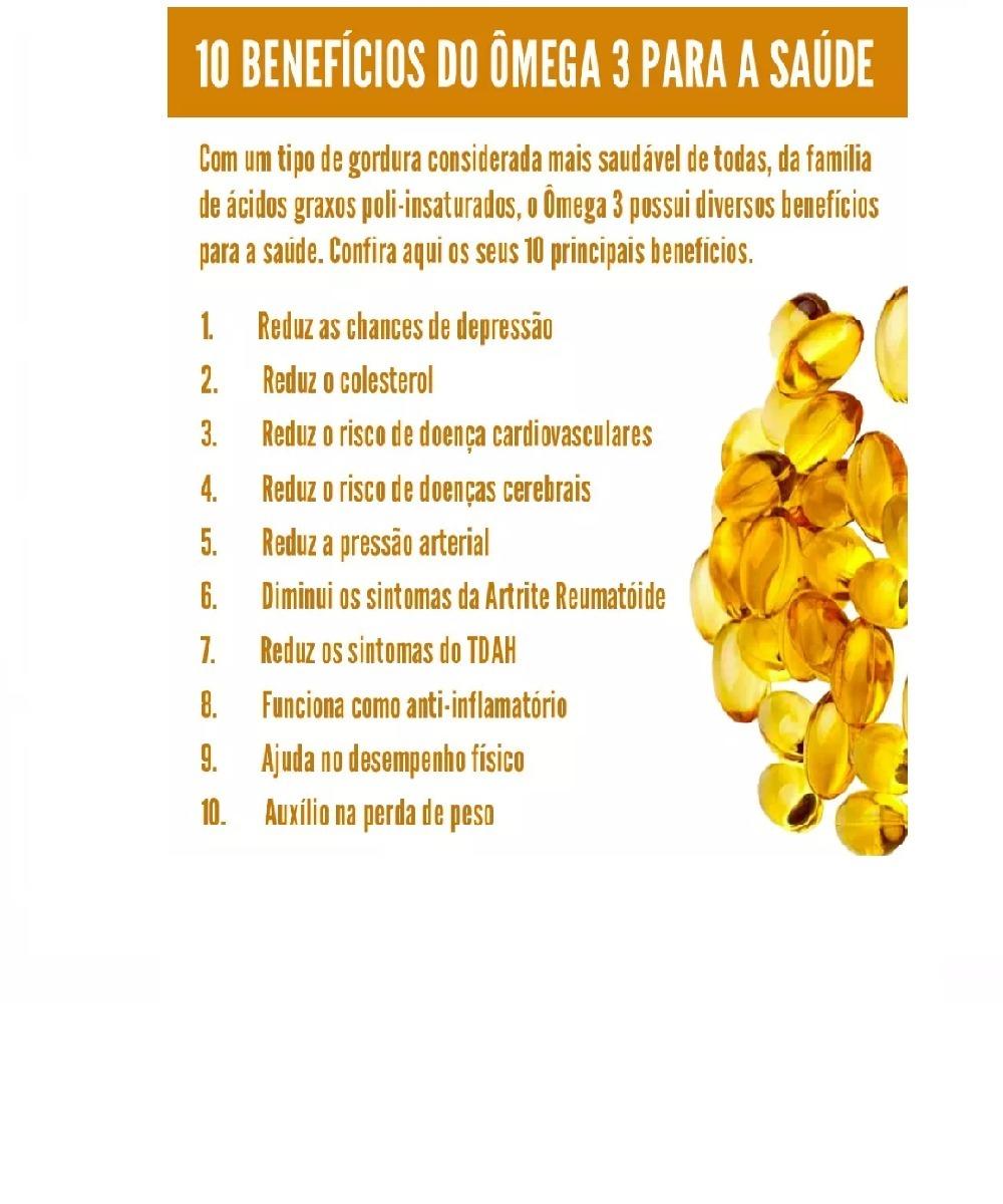 15d0cc1e9 Fish Oil Ômega 3 1000mg 180 Cápsulas Óleo De Peixe Lavitan - R  51 ...