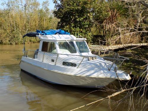 fisher cabin 710 crucero lancha cuddy