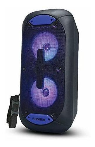 fisher fbx520 altavoz bluetooth portatil de 5 pulgadas con c