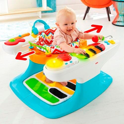 Fisher price 4 in 1 piano caminador silla juguete bebe for Silla 2 en 1 fisher price