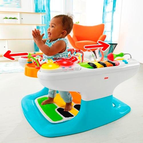 Fisher price 4 in 1 piano caminador silla juguete bebe en mercado libre for Chaise 4 en 1 fisher price