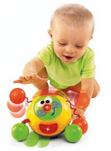 fisher price amiguito toca y gatea jugueteria bunny toys