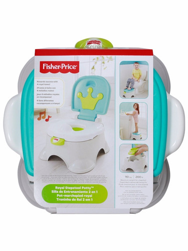 fisher price - bacín de entrenamiento royal celeste