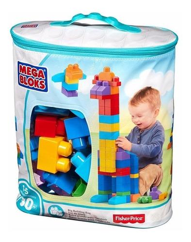 fisher price bolsa de 80 piezas mega bloks bloques juguetes