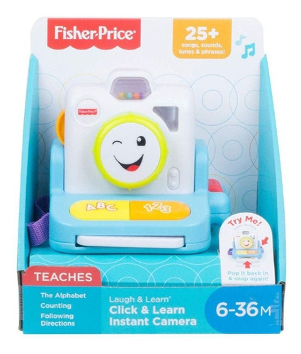 fisher price camera sorrisos - gmm64 mattel