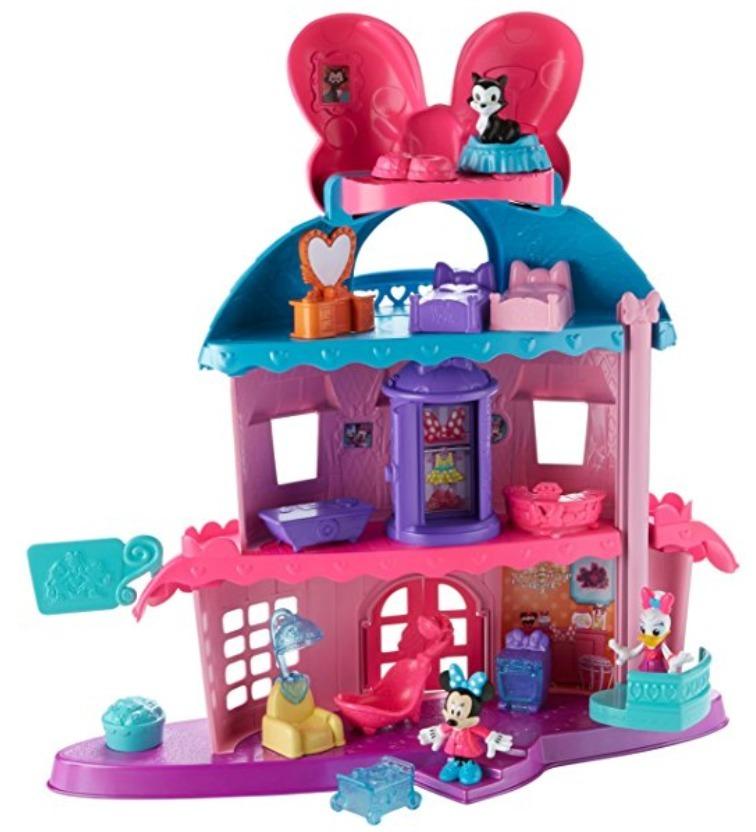 Fisher Price Casa Minnie Mouse 3 Andares Disney Original Eua - R ...