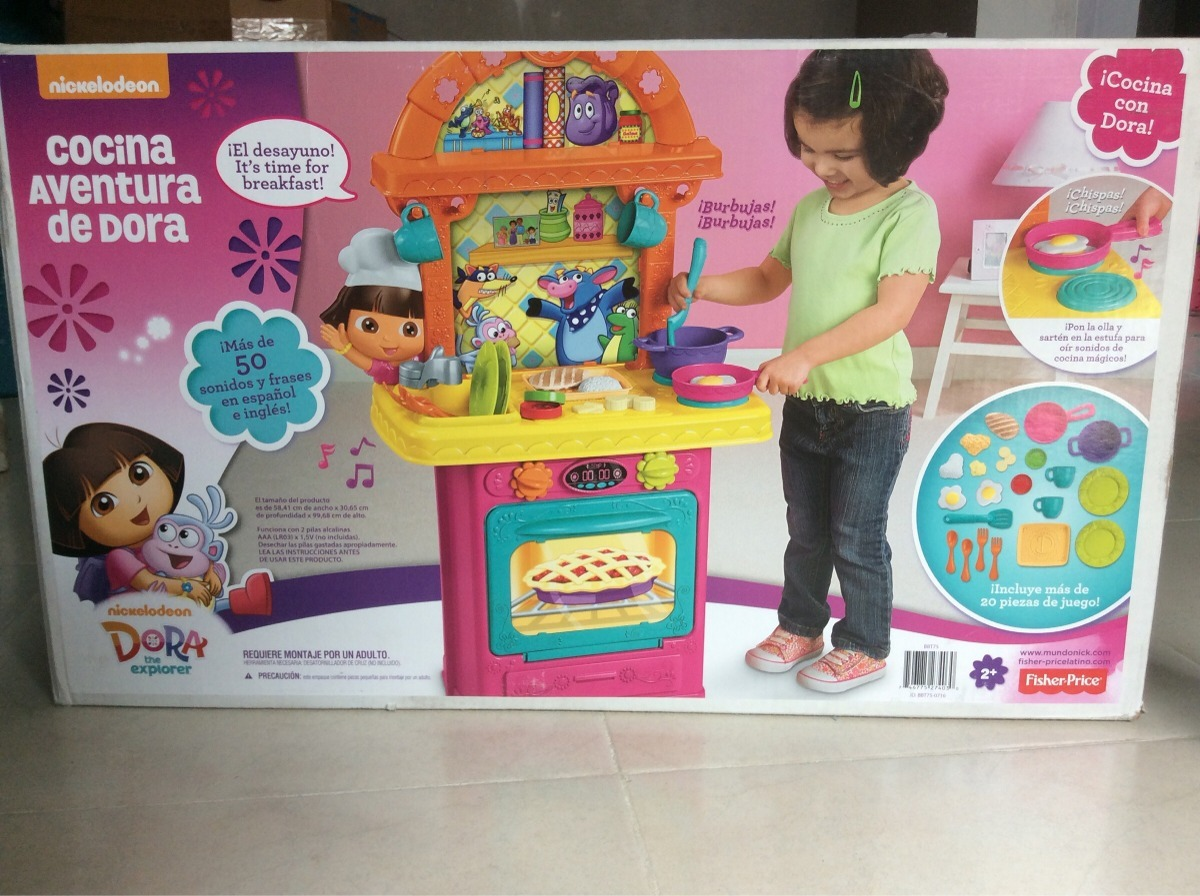 Fisher price cocina de dora la exploradora 1 en - Cocina dora la exploradora fisher price ...