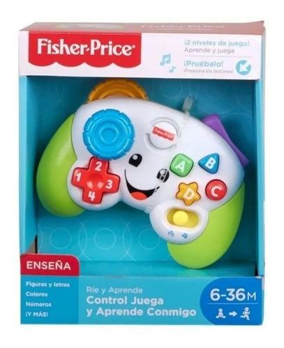 fisher price - control juega y aprende conmigo joystick vaj